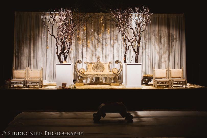 Ceremony setting