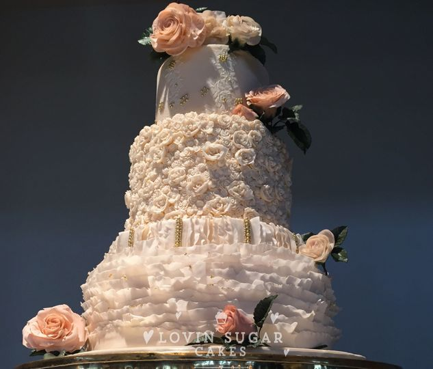 Lovin Sugar Cakes Wedding Cake Austin TX WeddingWire
