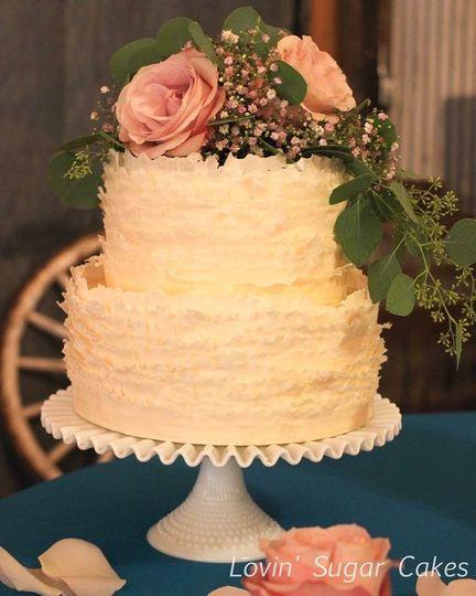 Lovin\' Sugar Cakes - Wedding Cake - Austin, TX - WeddingWire