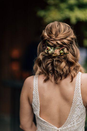 Bridal Boho Hairstyle