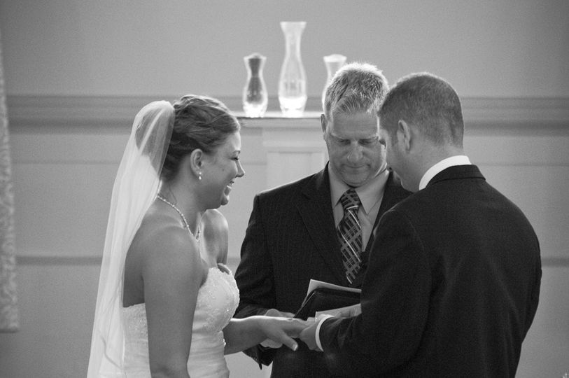 Beautiful wedding ceremony at The Amway Grand Hotel Grand Rapids Michigan
