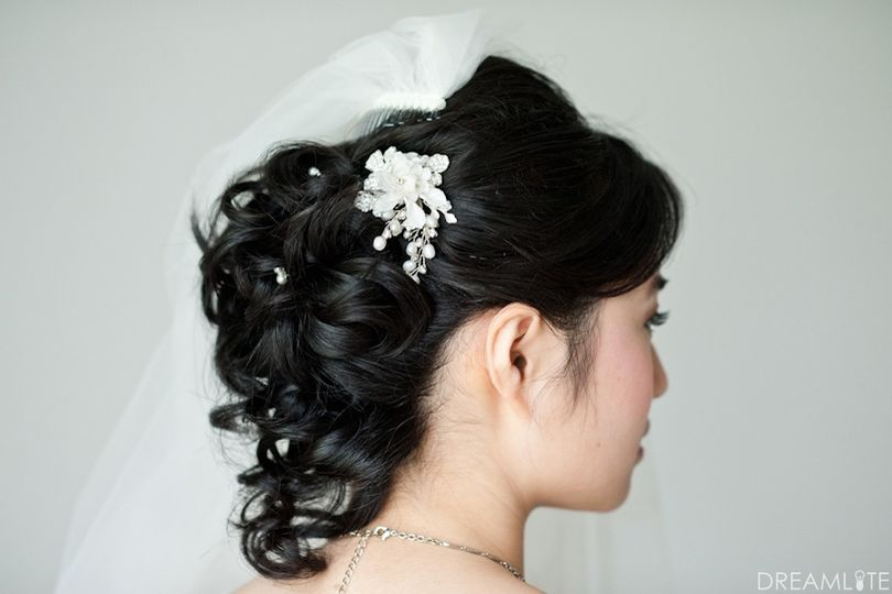 Romantic and lovely hair.