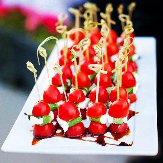 Bruchetta appetizer