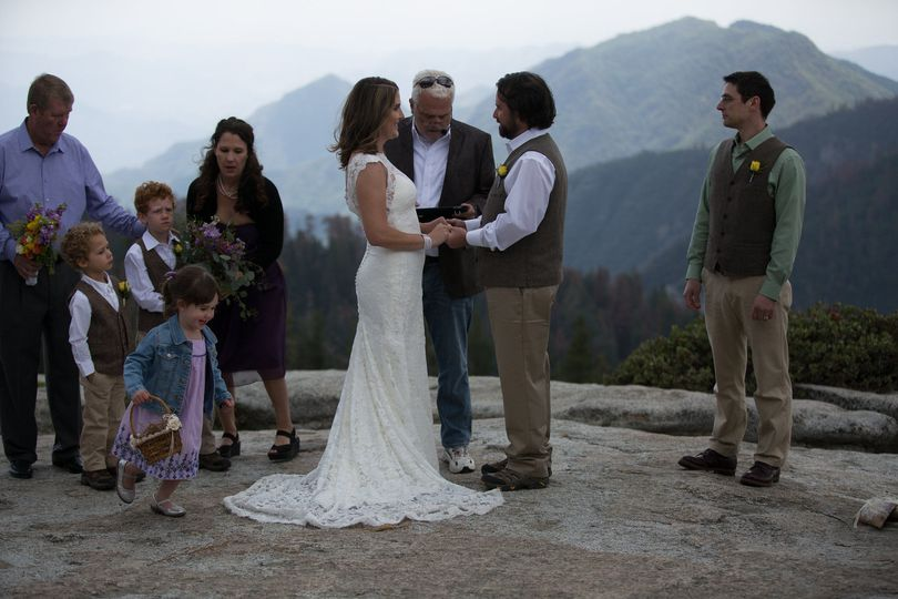 Lea & Ryan. May 16. We were at 8k feet, the bride's teeth were chattering, but it was grand.
