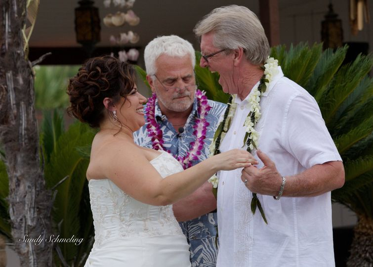 Linda & Russ. June 15.My favorite of all time. Beach party theme so I was in an Hawaiian shirt and...