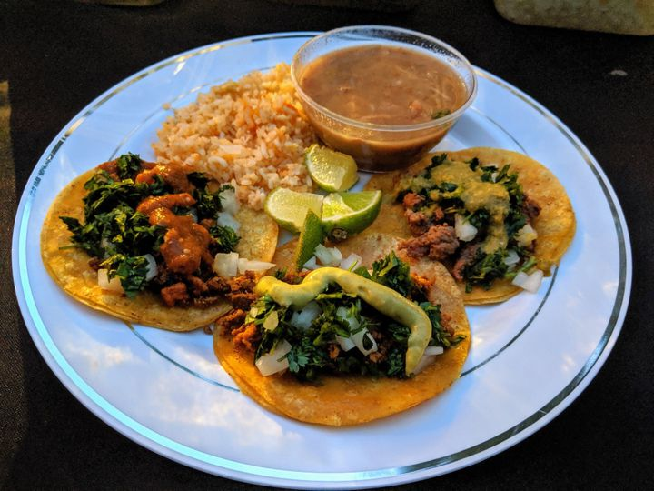 Tacos and sides