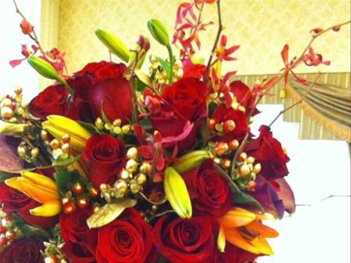 Tmx 1329159514153 RedWedding7 Fort Worth wedding florist