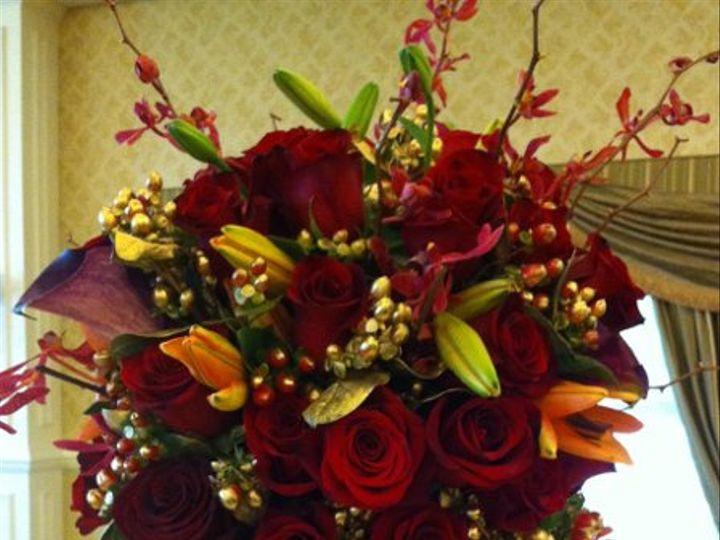 Tmx 1329159525699 RedWedding8 Fort Worth wedding florist