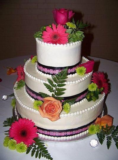 tiered wedding cake2