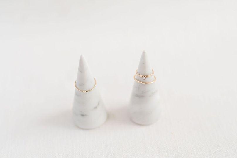 Wedding-ring holders - craft monkees