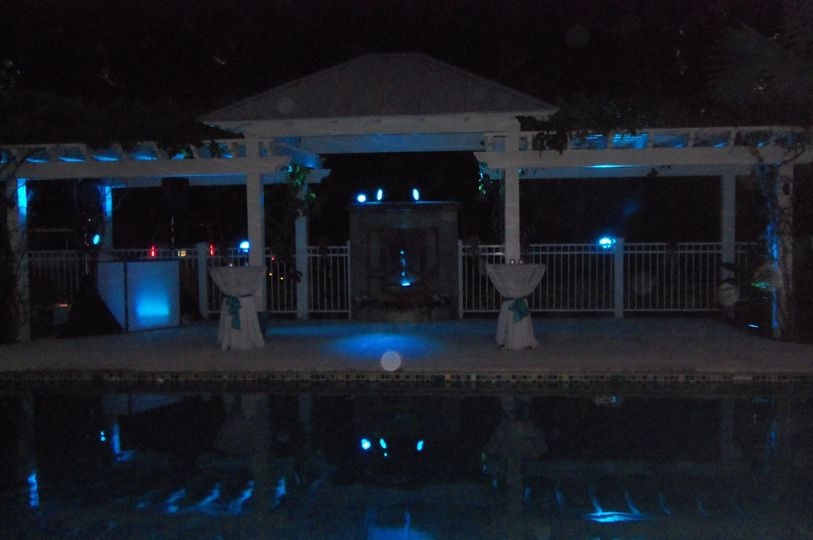 florida wedding dj up lighting