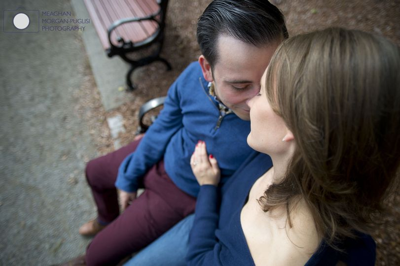 Park bench tenderness - Meaghan Morgan-Puglisi Photography
