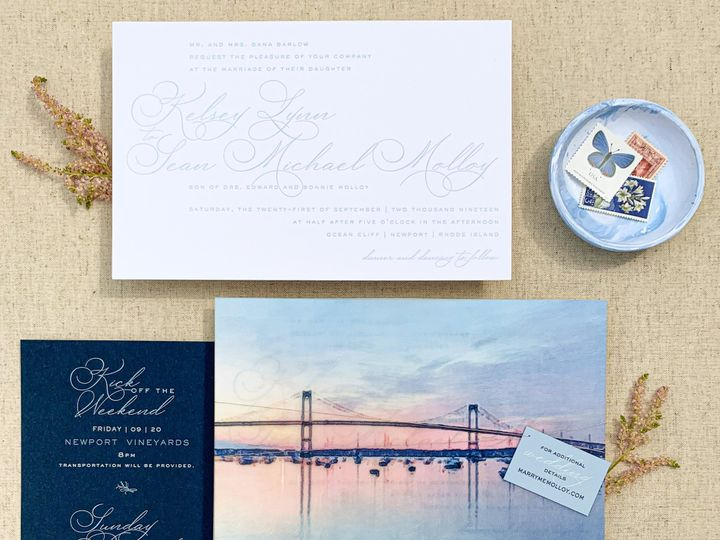Tmx Img 2912 51 1259721 1569431447 Westport, CT wedding invitation