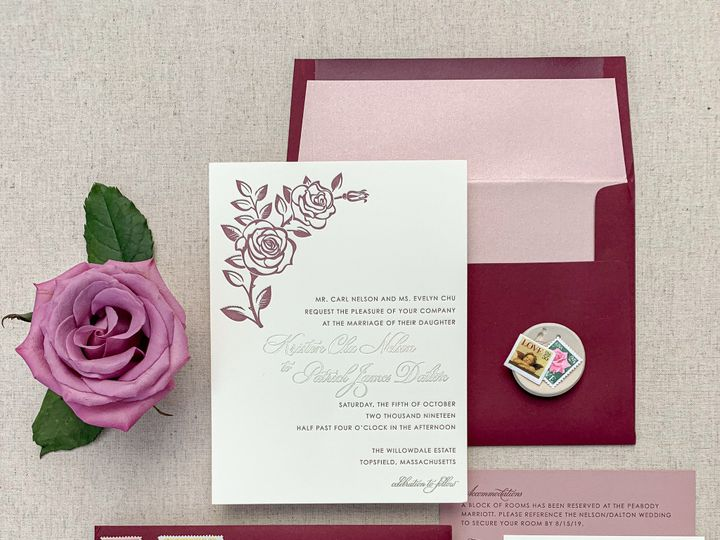 Tmx Img 3023 51 1259721 1569431446 Westport, CT wedding invitation