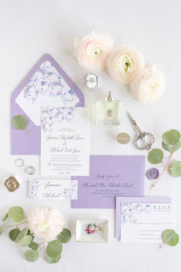 Belly band invitations