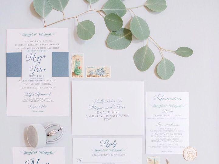 Tmx 1529186051 F68a7a101f7a5cbf 1529186049 86652cfe03d0001e 1529186045698 3 Megan Denver wedding invitation