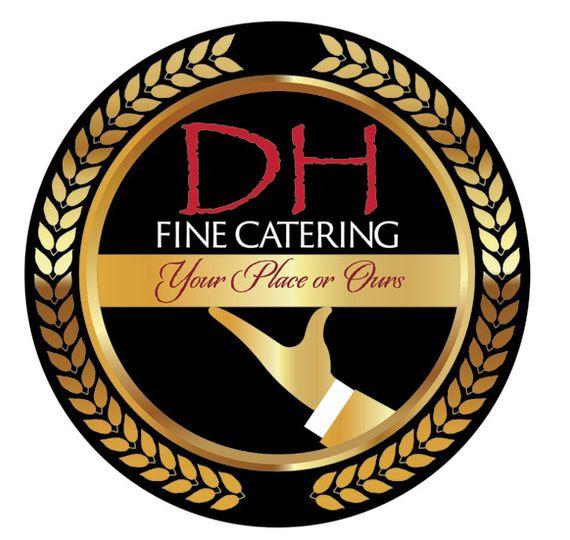 d h fine catering logo online 51 989721 160200267498757