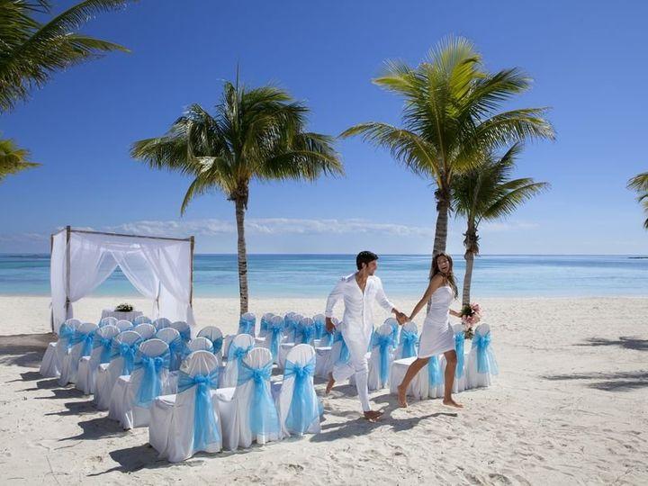 Tmx 1364399803318 Mayanrivierabarcelohotelsweddingbeach32110441 Brooklyn wedding travel