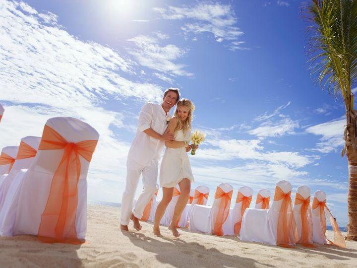 Tmx 1364399815457 Weddingbeach2hotelbarceloloscabospalacedeluxe219014 Brooklyn wedding travel