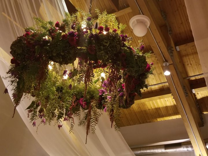 Tmx Flower Chandelier 51 1020821 New Rochelle, NY wedding catering