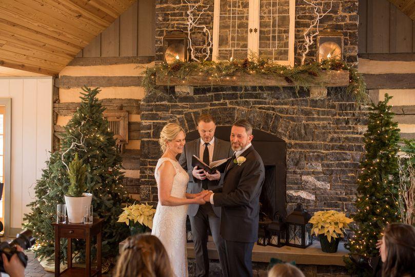Intimate indoor ceremonies