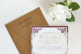 Pink Orchid Invitations