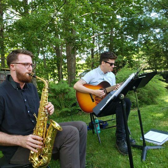 Saxophone & Guitar
