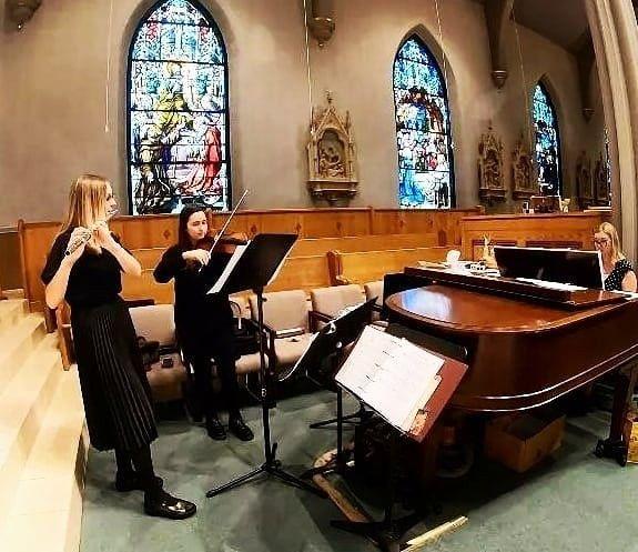 Flute, Violin, Piano