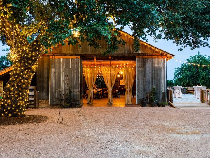 Tmx Barn Front With Deck And Herold Champagne 070319 51 1052821 1562208552 San Marcos, TX wedding venue