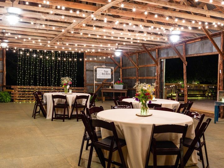 Tmx Barn Inside To Deck Night 070319 51 1052821 1562208557 San Marcos, TX wedding venue