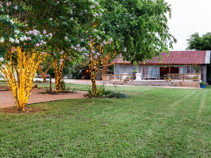 Tmx Barn Trees To Left Champagne 070319 51 1052821 1562208569 San Marcos, TX wedding venue