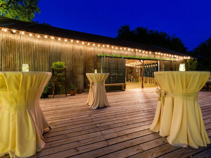 Tmx Deck To Sliding Night 070319 51 1052821 1562208566 San Marcos, TX wedding venue