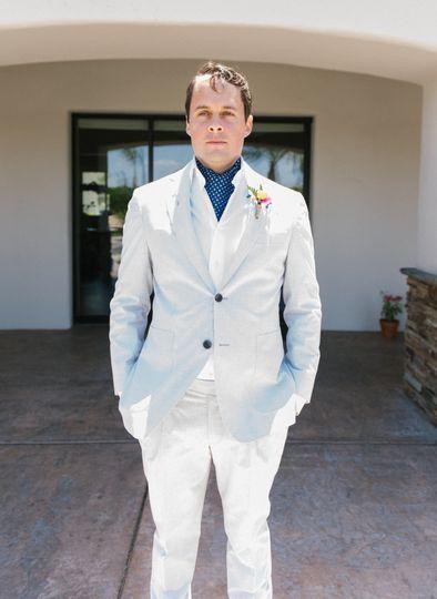 Alexandra & Ian - Palm Springs - groom