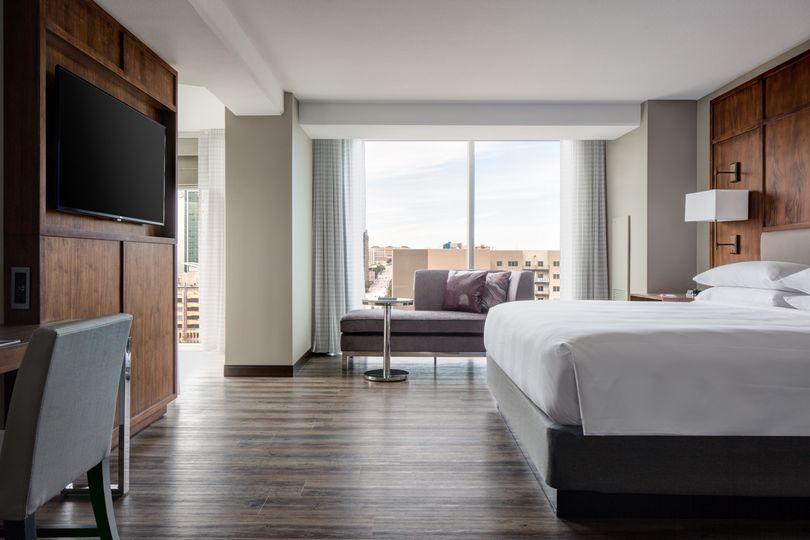 City Suite King Bedroom