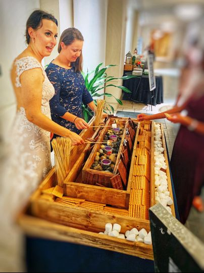 Delicious desserts for weddings