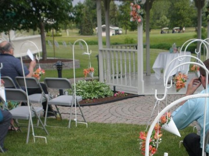 Tmx 1309901427335 HarringtonAisleDecor1 Lockport, NY wedding florist