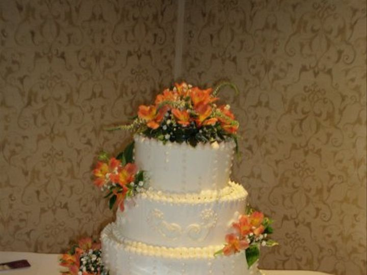 Tmx 1309901437694 HarringtonCake2 Lockport, NY wedding florist