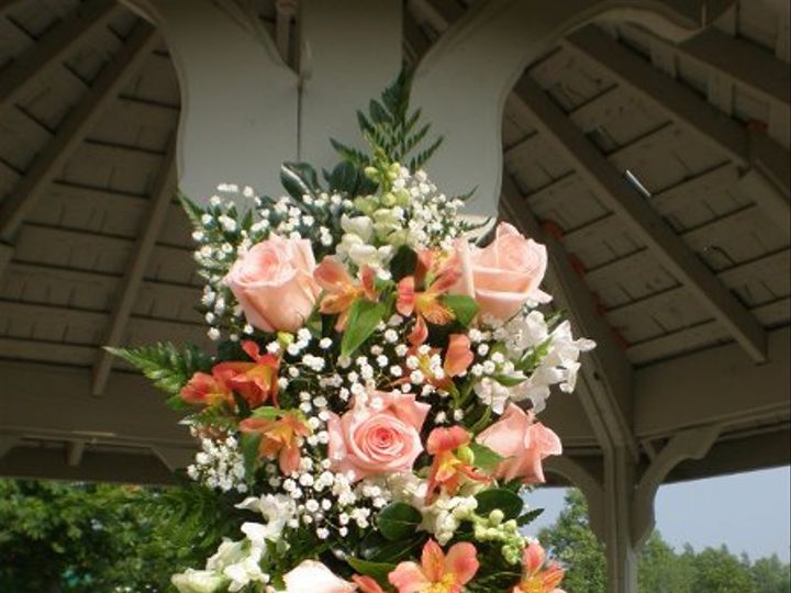 Tmx 1309901468616 HarringtonGazeboSprays2 Lockport, NY wedding florist