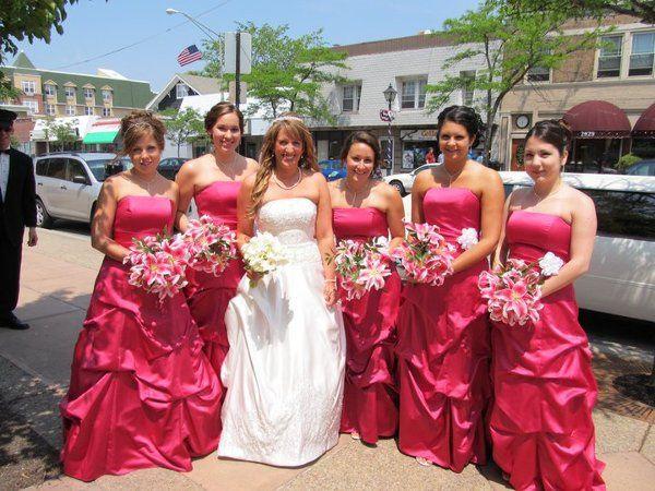 Tmx 1309901489366 KlarkBrideGirls Lockport, NY wedding florist
