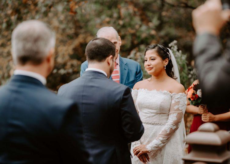 Bow Bridge Wedding