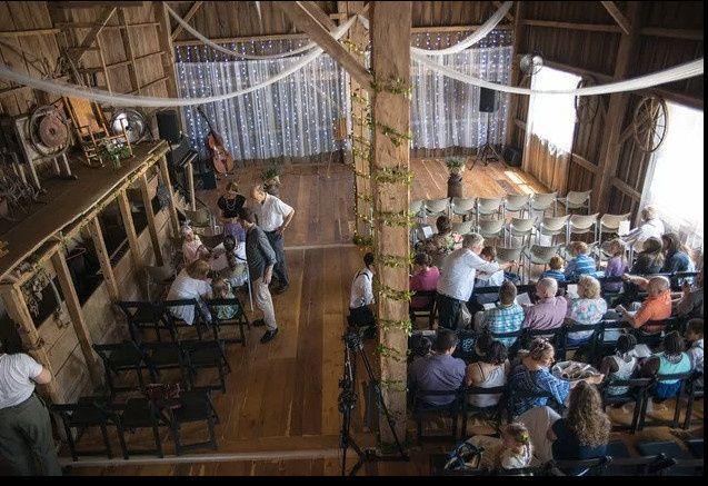 mount liberty barn inside