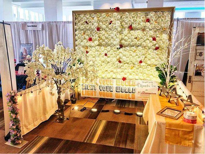 Tmx Flower Wall Large Image 51 1046821 Wynantskill, NY wedding eventproduction
