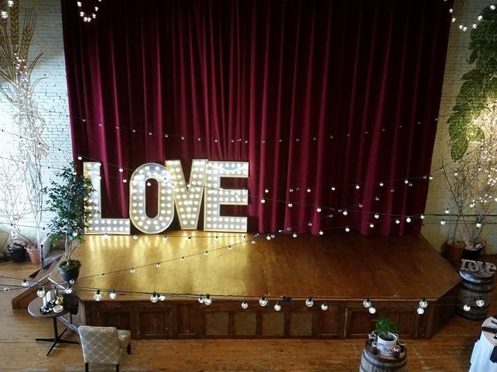 Tmx Lighted Love Marquee Letter Rentals 51 1046821 Wynantskill, NY wedding eventproduction