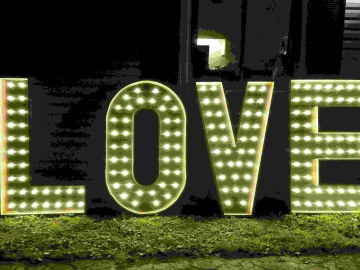 Tmx Wedding Marquee Lighted Letters 51 1046821 Wynantskill, NY wedding eventproduction