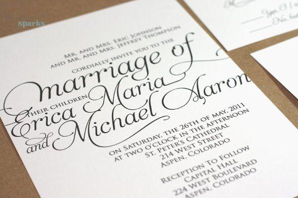 Script Invitation Design