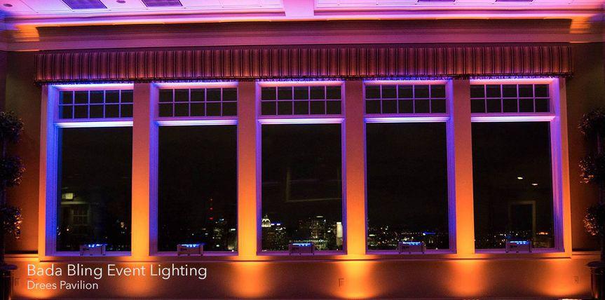 bada bling event lighting drees pavilion