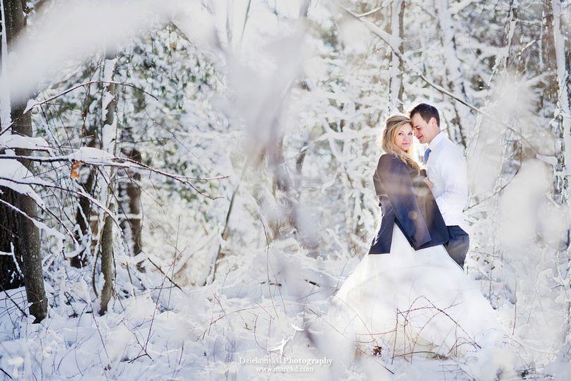 Oaks Winter Wedding
