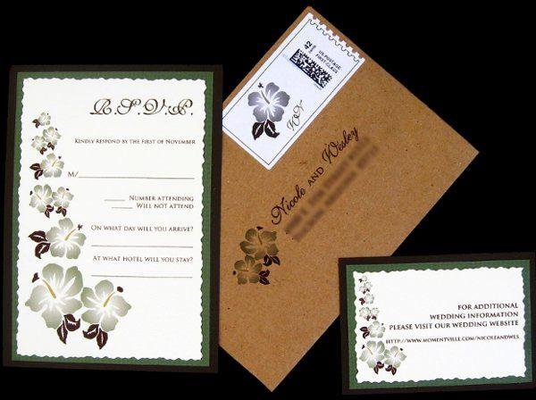 Tmx 1265274225539 INVITATIONWEDDINGBURLAPBOXHIBISCUS16 Los Angeles wedding invitation