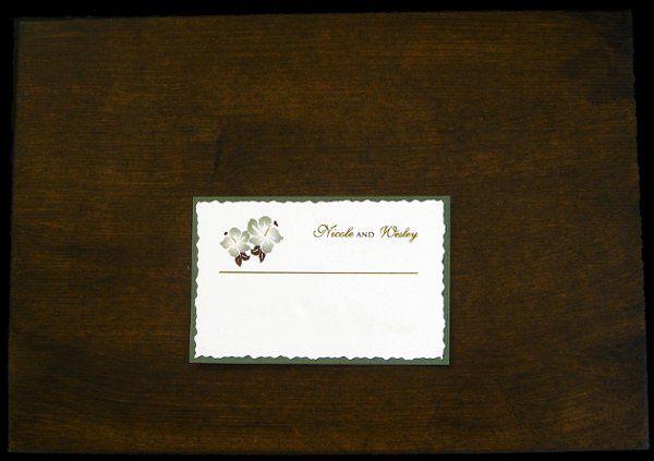 Tmx 1265274287117 INVITATIONWEDDINGBURLAPBOXHIBISCUS2 Los Angeles wedding invitation