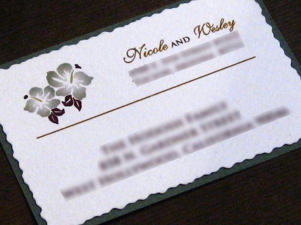 Tmx 1265274339414 INVITATIONWEDDINGBURLAPBOXHIBISCUS4 Los Angeles wedding invitation
